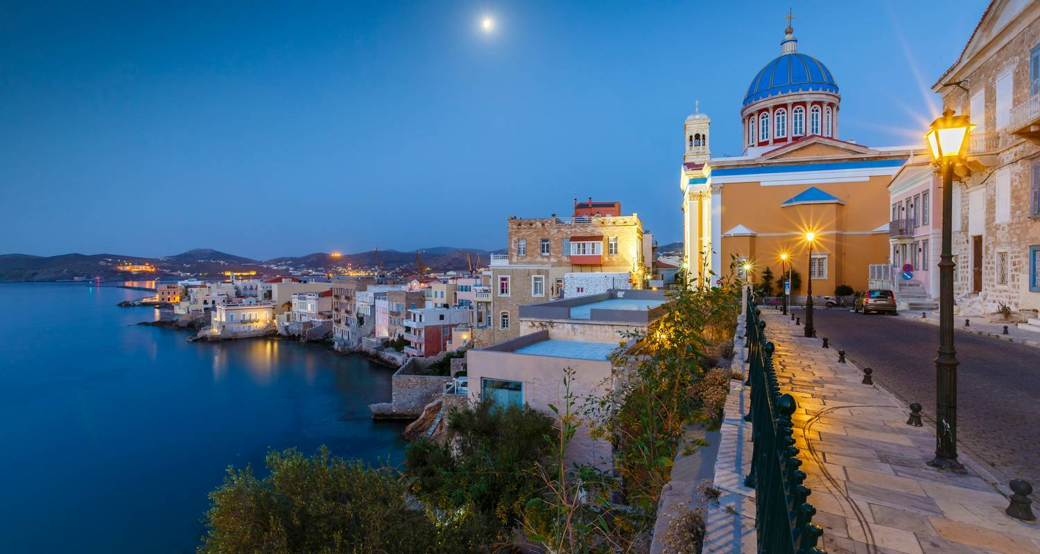 Taste of Greece: Syros Island & Athens Experience